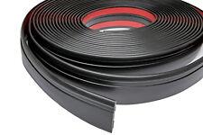 Zierleiste 60mm breit | schwarz | flexibel selbstklebend | Meterware
