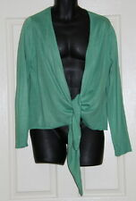 Womens size S (16) green cardigan made by AUTOGRAPH