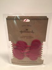 Hallmark Christmas Gift Trim Tag Red Dot Ribbon Wrap 2 yds