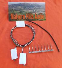 Tone Arm /Tonearm Rewire Kit Silver-Plated Teflon 4 x 800mm.10 Clips & H/Shrink