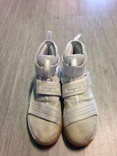 Nike LeBron James Soldier X 10 SFG White Shoes Size 10