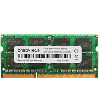 4GB 8GB 2Rx8 PC3-8500s DDR3-1066MHz 204 Pin 1.5v SO-DIMM Laptop Notebook Memory