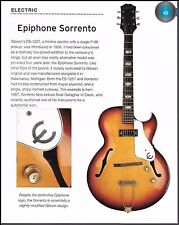 The 1967 Epiphone Sorrento + 1960s Olympic electric guitar 6 x 8 article
