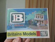 Good Reproduction Catalog---No DINKY TOYS BRITAINS Catalogue 1968 No 4