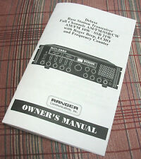 Ranger RCI-2980 CB Base Radio Owners//Instruction Manual