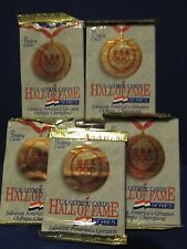 US OLYMPIC HALL of FAME 1991 IMPEL Trading Card pack Lot of 5