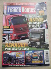 France Routes n°  379 POSTER GEANT PETERBITT. MERCEDES ANTOS 2543. SCANIA T 143