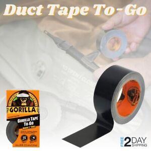 Black Gorilla Heavy Duty Duct Tape Waterproof Thick Wide Roll Adhesive Repair