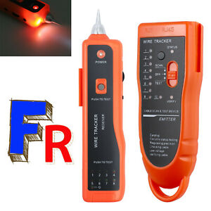 Téléphone RJ11 RJ45 Testeur de Câble Testeur de réseau Tracker Toner traceur