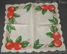 2 Vintage Franciscan Apple USA Cocktail Appetizer Buffet Paper Napkins (GG)