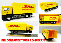 Container Truck DHL LORRY RMZ City Scale 1:64 DIECAST COLLECTION TOY GIFT NEW