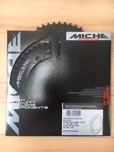 "MICHE PISTA ADVANCED Chainring Track Pista Fixed Gear Bicycle 144 BCD 1/8"" Black"