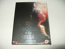 The Phantom Of The Opera (DVD, 2005) 2 Disc dvd Deluxe BoxSet New & Sealed