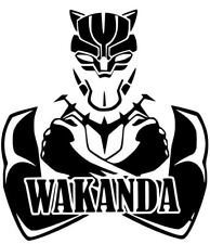 Wakanda Black Panther Marvel Avengers Infinity Car Truck decal sticker 12 Colors