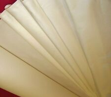 Heavy weight 100% cotton sateen CURTAIN LININGS. cream