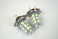 AUDI A3 HATCH 2005-2006 2X H7 18 SMD LED 12V HEADLIGHT LIGHT BEAM BULB