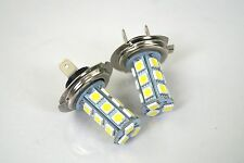 COMPATIBILE CITROEN PICASSO 07-ON 2X H7 18 SMD LED 12V LAMPADINA FARO ANTERIORE