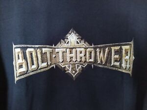 Bolt Thrower Those Still Loyal 2006 Tour T-Shirt size L Death Metal Benediction