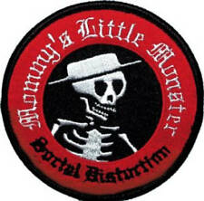 Social Distortion Mommy's Little Monster Embroidered Patch / Iron On Applique