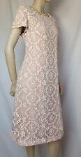 Laura Ashley Spitzenkleid 38 rosa creme ivory pearl pink Hochzeit neu Cocktail