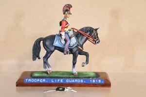 HISTOREX NAPOLEONIC BRITISH MOUNTED HORSE GUARDS TROOPER WATERLOO 1815 2nv