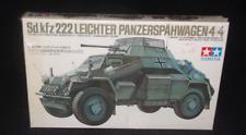 Tamiya Model Kit German Sd.kfz222 Leichter Panzerspahwagen WWII Armored Car New