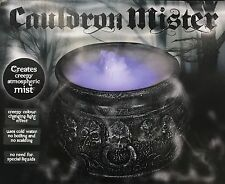 Halloween Cauldron Mister Mist/Smoke Fog Machine Colour changing Party Prop