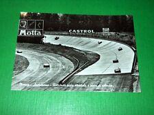Cartolina Monza - Autodromo - Raccordo pista stradale e pista di velocità 1957