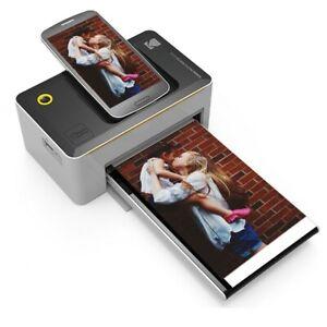 Kodak Photo Printer Dock PD450W With Wi-Fi Android and iOS 4x6 Instant Photos EU