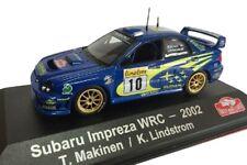 Subaru Impreza WRC Makinen 2002 Rally Montecarlo coche 1:43 Atlas Diecast