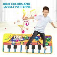 Kids Baby Musical Music Keyboard Piano Play Mat Development Educational J3F0