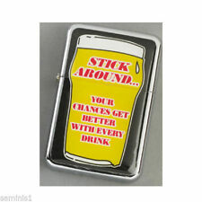 Collectable Beer, Alcohol & Smoking-Themed Lighters
