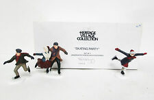 """Dept. 56 Heritage Collection """"Skating Party"""" Mib"""