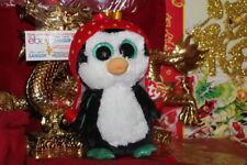 "Ty Beanie Boos Freeze The Christmas Penguin. Medium 9"".Mwnmt.2015.Nice Gift"