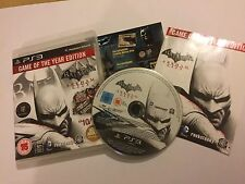 PAL PLAYSTATION 3 PS3 Batman Arkham City Edición Juego Del Año Goty Completa