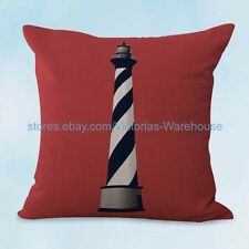 US SELLER, marine nautical lighthouse cushion cover pillow cushion covers