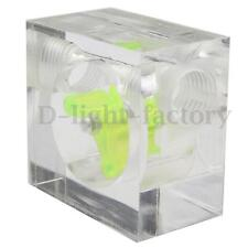 DN8 6.35mm G1/4 Flow Rate Water Speedometer For Computer Water Cooling System