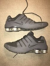 Nike Shox NZ Size 12 US Men's Black Athletic Running Shoes 378341-048