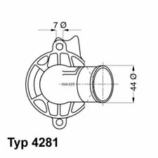 WAHLER Thermostat, coolant 4281.87D