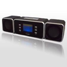 Digital Portátil De Altavoces Con Usb Mp3 Micro Sd/tf Radio Fm Pantalla Lcd