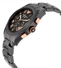 Emporio Armani AR1410 Ceramica Cronografo Orologio Da Uomo * vendita * ERA £ 299 ora £ 95