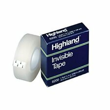 3m Company Highland Invisible Tape 12x1296in Set Of 6