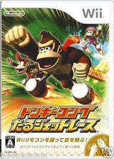 Used Wii Donkey Kong Taru Jet Race  Nintendo JAPAN JP JAPANESE JAPONAIS IMPORT