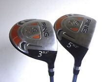 Ping G10 3 & 5 Fairway Wood Set - Right Handed - Senior A Flex Used