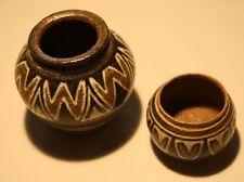 2 Studiokeramik Kunst-Keramik signiert skandinavisch Steingut wer hilft