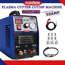 Plasma Cutter Cut50 Pilot Arc 50a 110220v Cnc Compatible Clean Cutting Max14mm