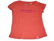 O´Neill tolles T-Shirt Gr. 146 / 152 orange mit Schriftzugdruck !!