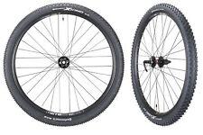 "WTB SX19 Mountain Bike Novatec Hubs & Tires Wheelset 11s 27.5""Front 15mm Rear QR"