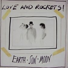 LOVE AND ROCKETS-EARTH SUN MOON LP VINYL 1987 SPAIN EXCELLENT COVER CONDITION-
