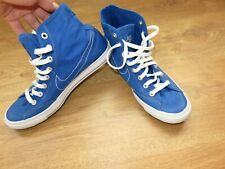 NIKE Go Mid Canvas Men`s shoes sky blue UK 8 US 9 EUR 42.5